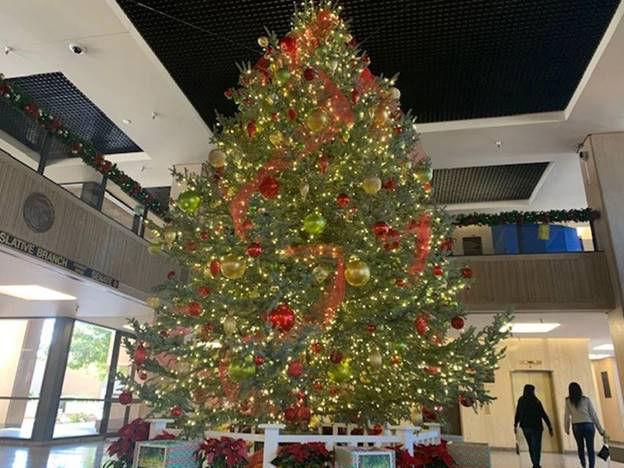Arizona's Capitol Christmas tree