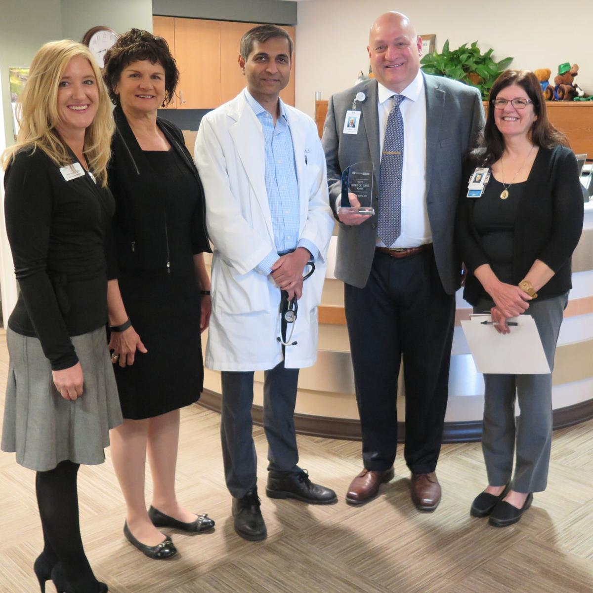 SHRMC's DeWitt honored with Advanced ICU Care award