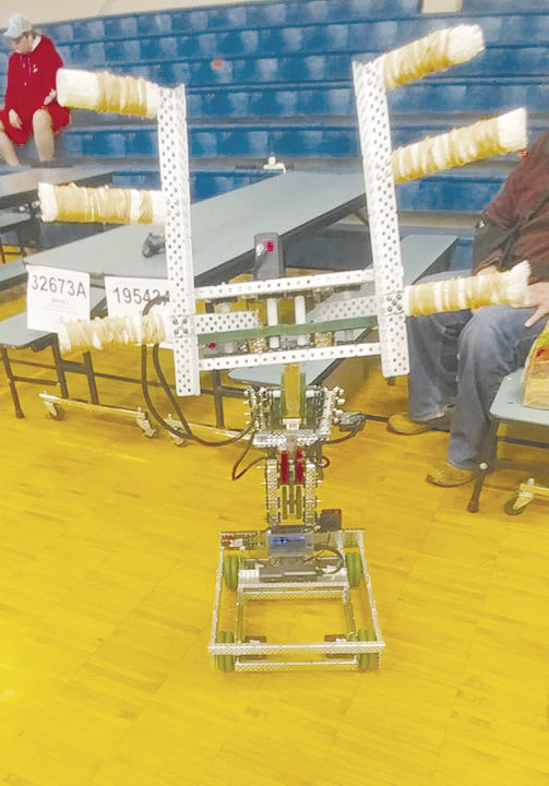 Samuel Rea's robot