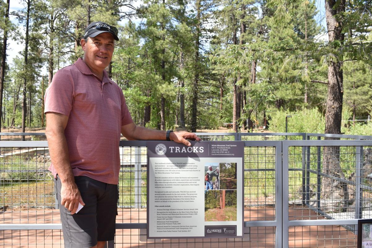 TRACKS trailblazer honored