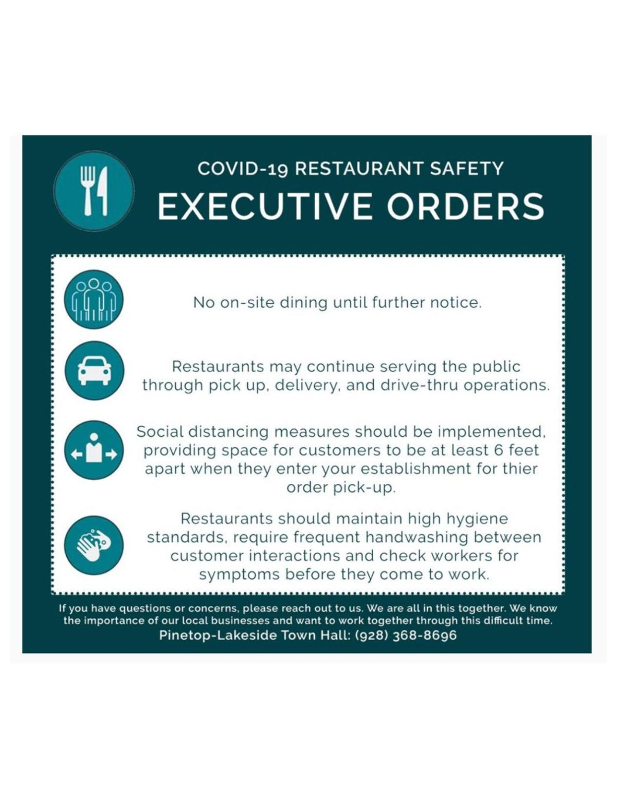 Restaurant Guidelines for COVID-19
