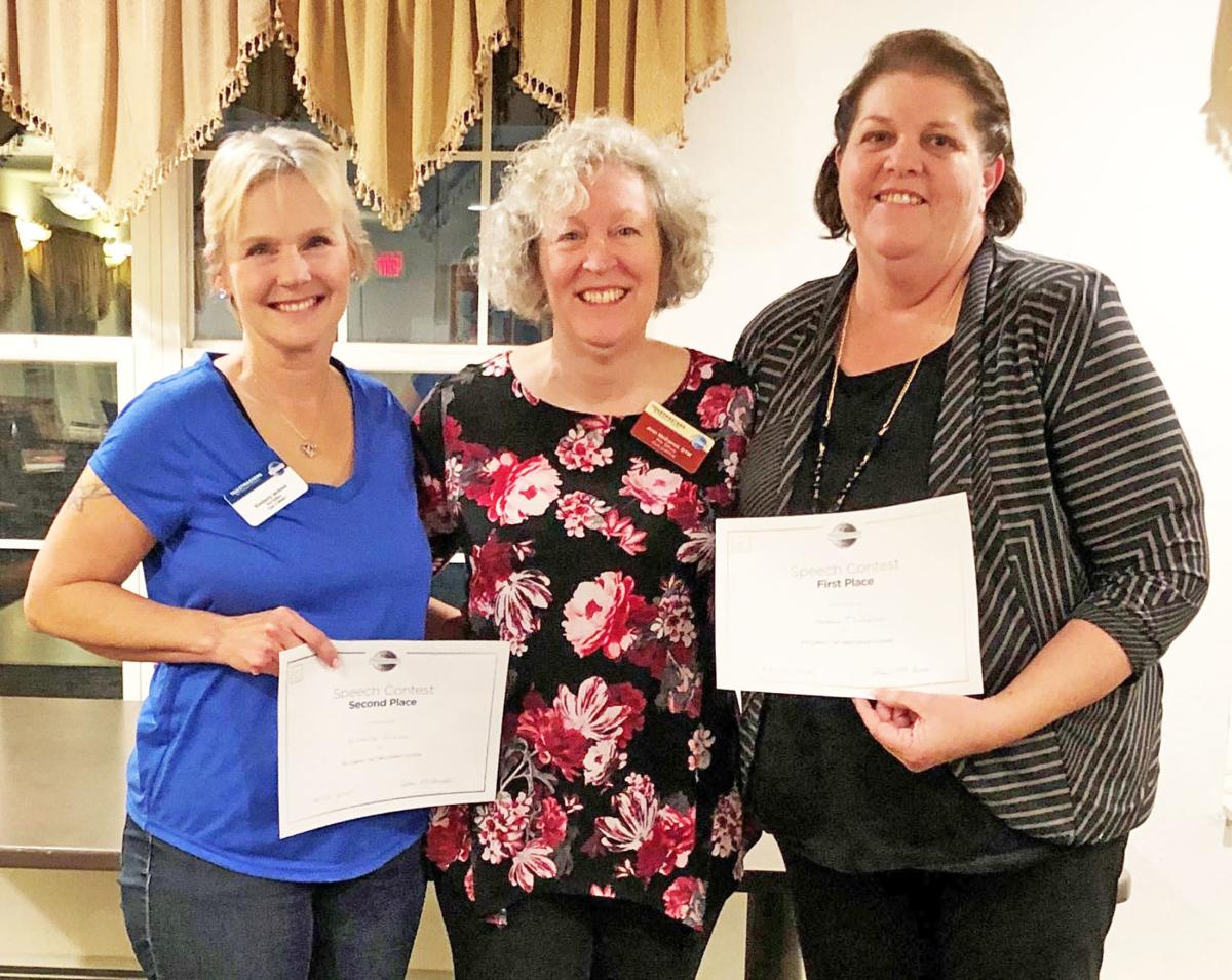 Local Toastmasters Club holds annual speech contest