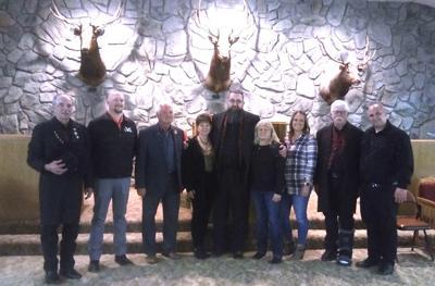 Elk Lodge Officers