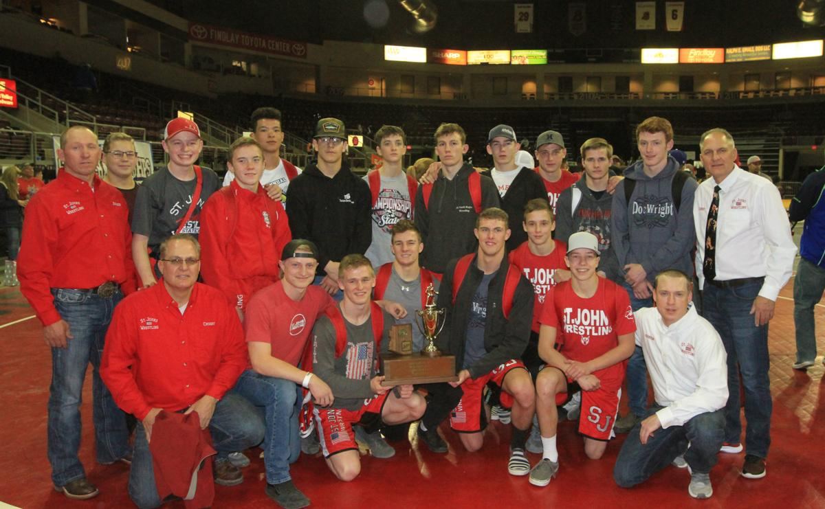 St. Johns is D4 wrestling runner-up