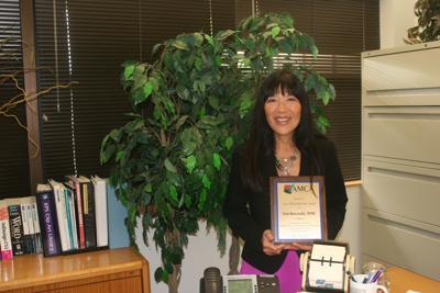 Ann Kurasaki named AMCA 'Clerk of the Year'