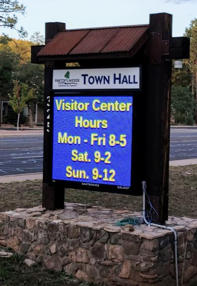 One thousand visitors in 92 days for visitor center