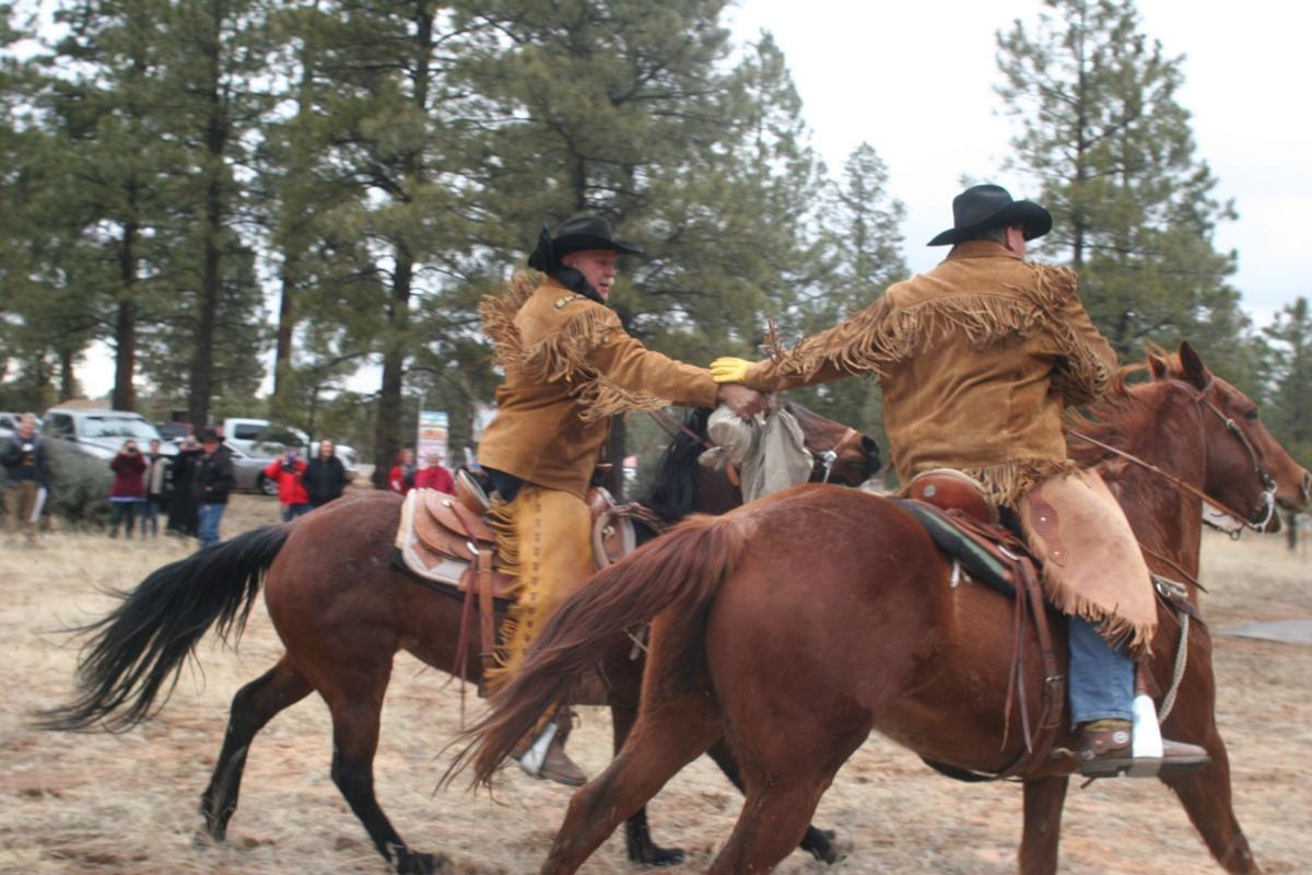 Hashknife Pony Express riders