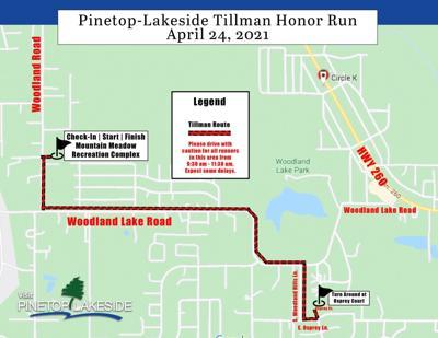 Tillman Run route