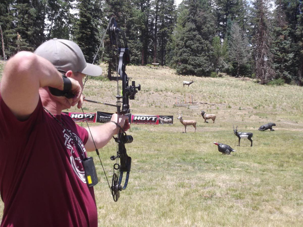 3D Archery Shootout brings hundreds to Sunrise Ski Park