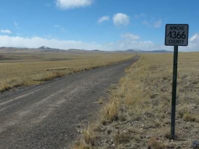 Apache County roads