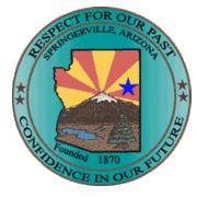 Town of Springerville logo