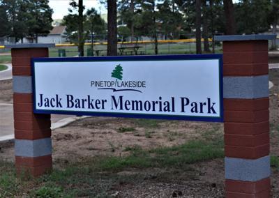 JacK Barker's legacy comes alive at memorial park