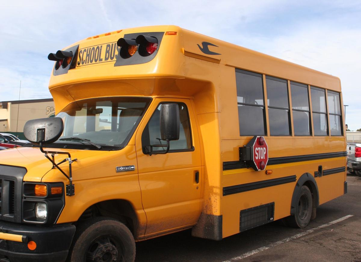 Federal bailout for schools  - school bus
