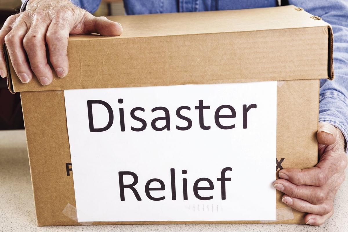Disaster relief box