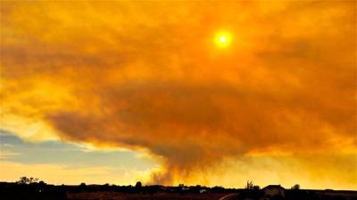 377 Fire smoke cloud