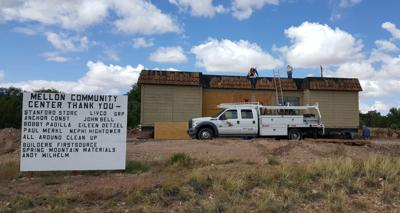 Work Continues On Concho Community Center