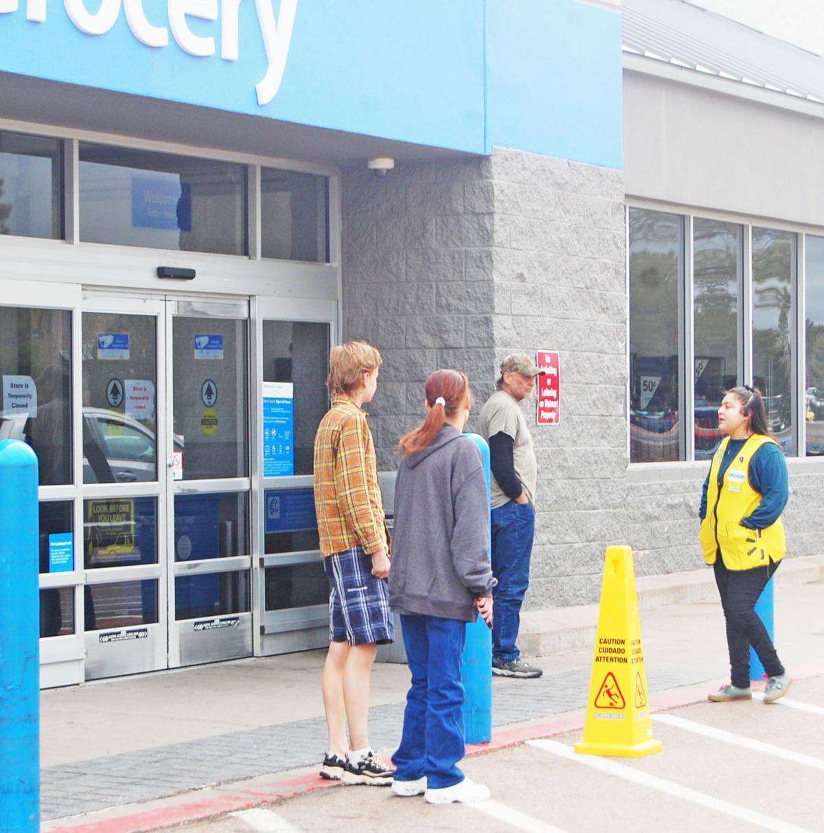 Walmart closed this morning