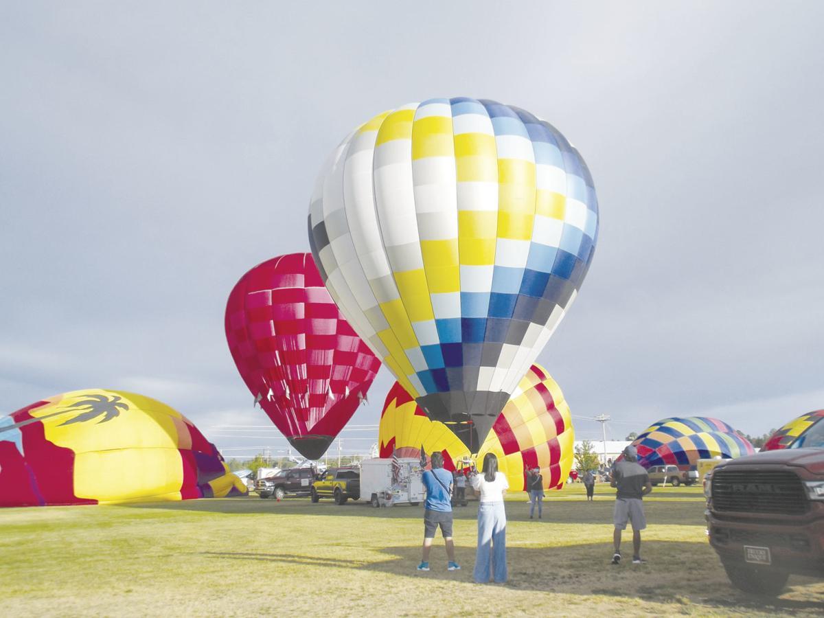 Balloons at Mountain Meadow Recreation Complex