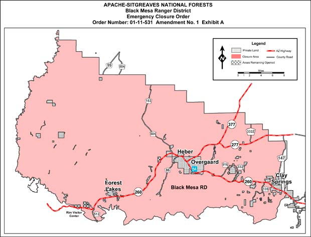 Extreme fire danger prompts additional forest closures in ...