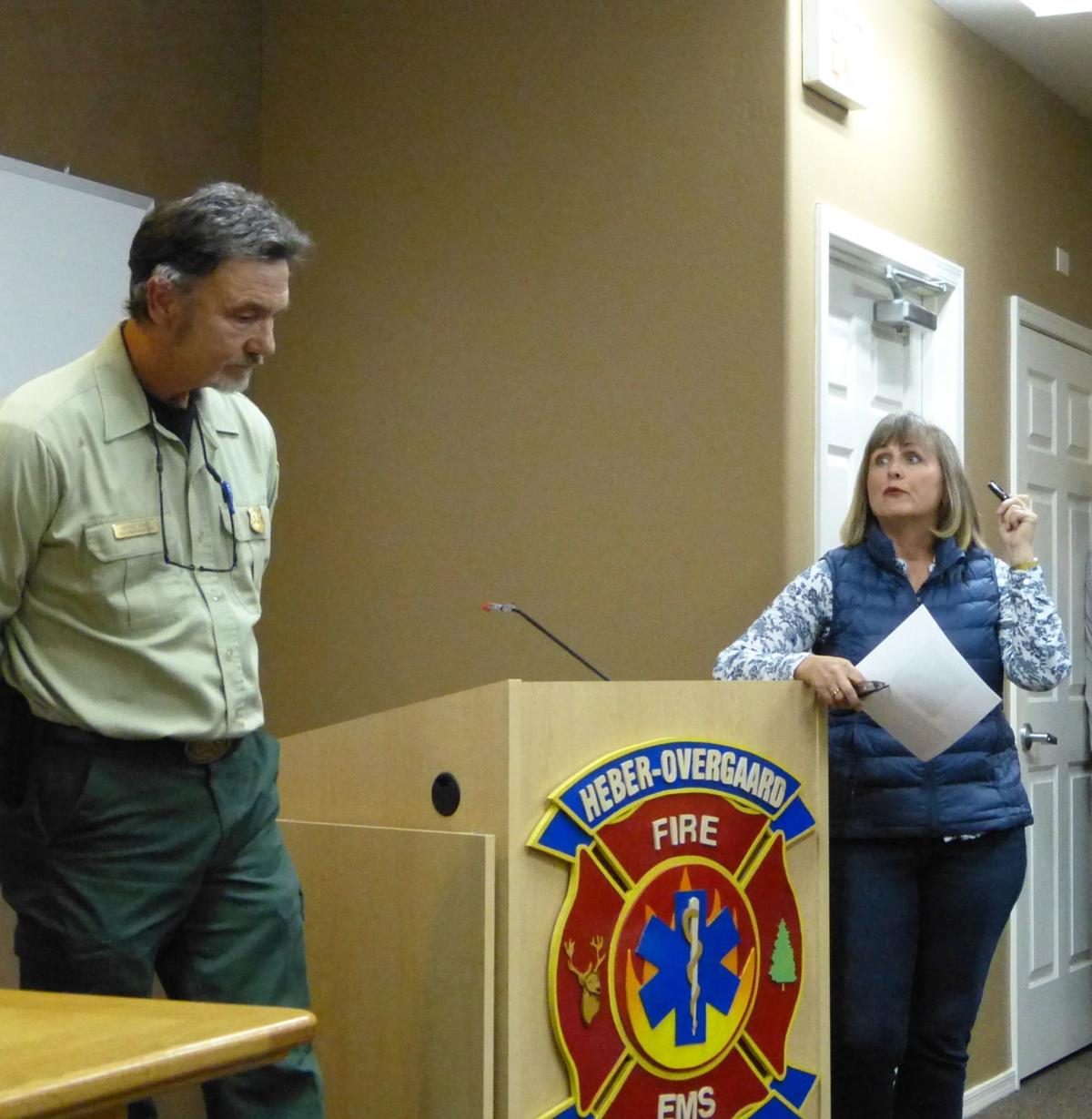 Community meeting - Steve Best and Kathie Reidhead