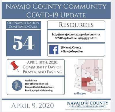 Navajo County Facebook page screenshot