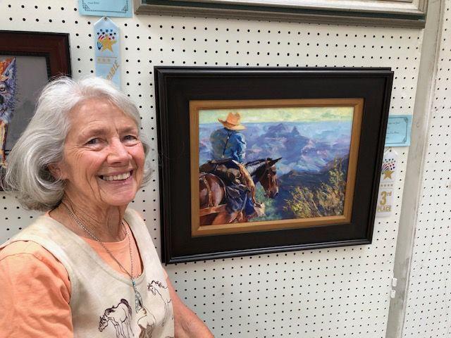 AAWM announces winners of bi-annual art show - Mary Lois Brown