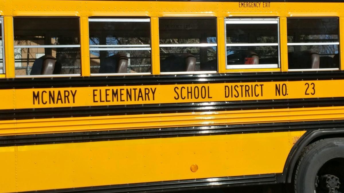 McNary Elementary school bus