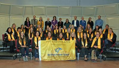 NPC's Phi Theta Kappa chapter inducts 32 new members