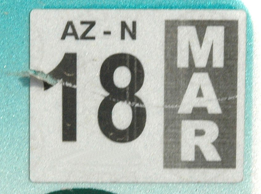 Lawmaker\'s bill would eliminate license plate stickers | Arizona ...