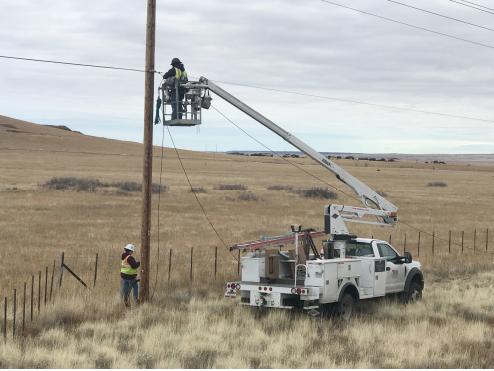 Apache Co broadband install
