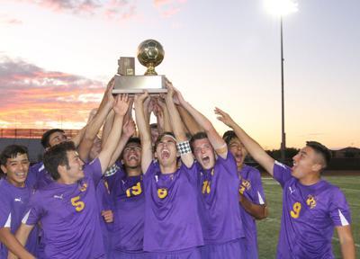 Blue Ridge Varsity Soccer Team Champs