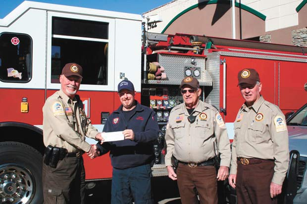 Sheriff's Auxiliary gives $1,200 locally