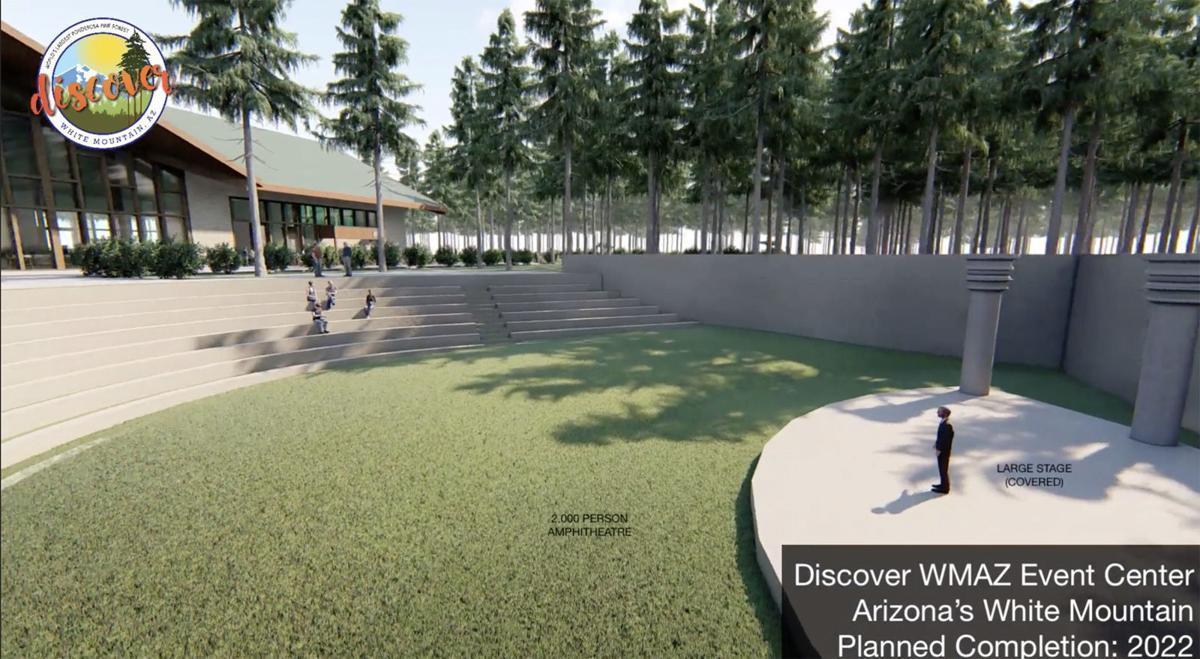 WMAZ proposed convention ctr. amphitheatre