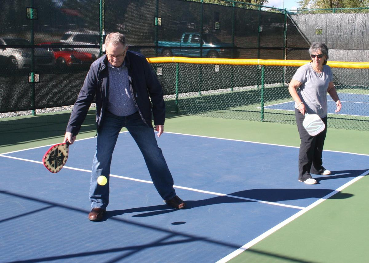 New pickleball courts ready for first tournament