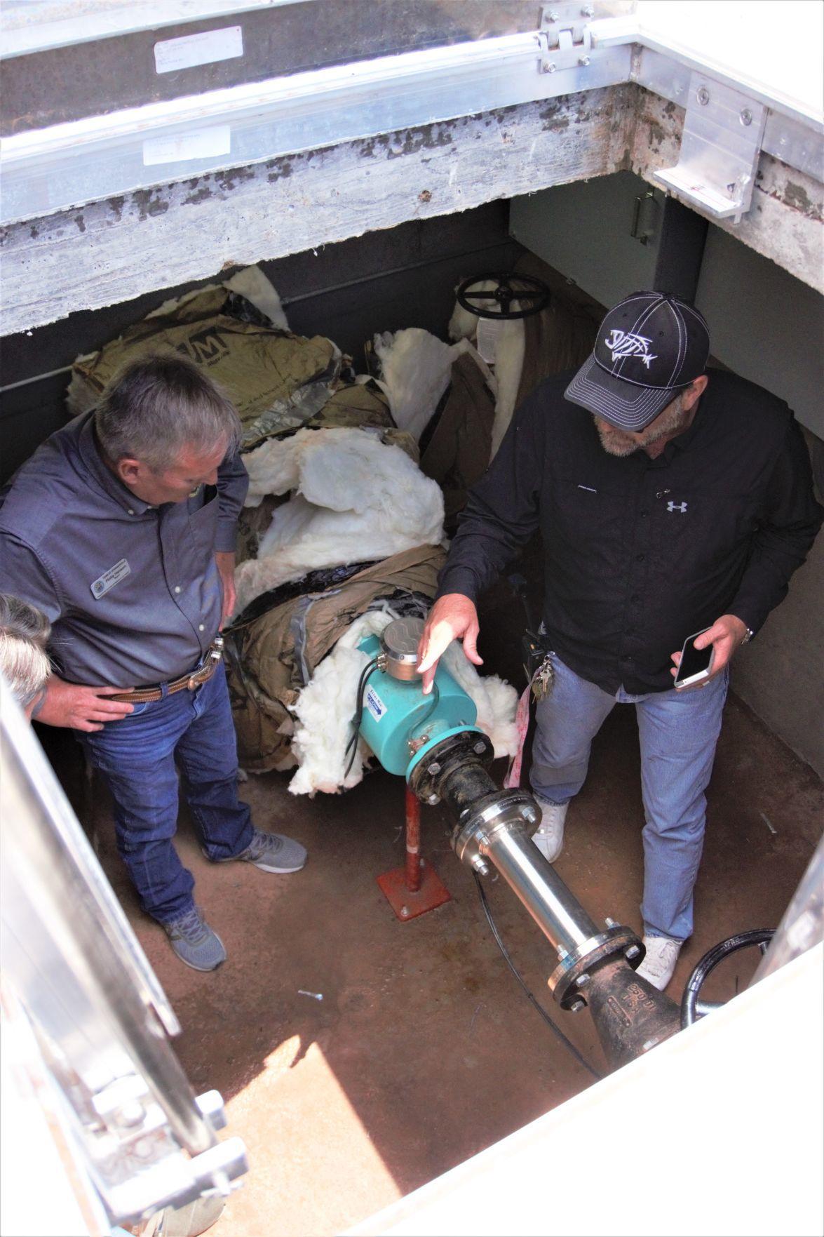 Inside the apparatus