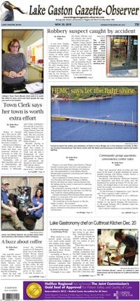 Lake Gaston Gazette-Observer