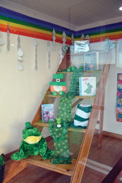 St. Patrick's Display