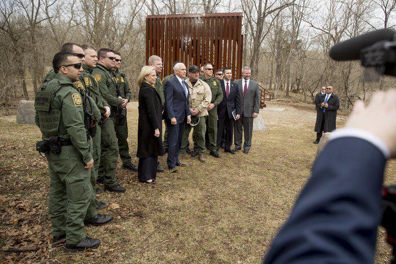 Senate GOP effort on Trump border wall seems to fall short