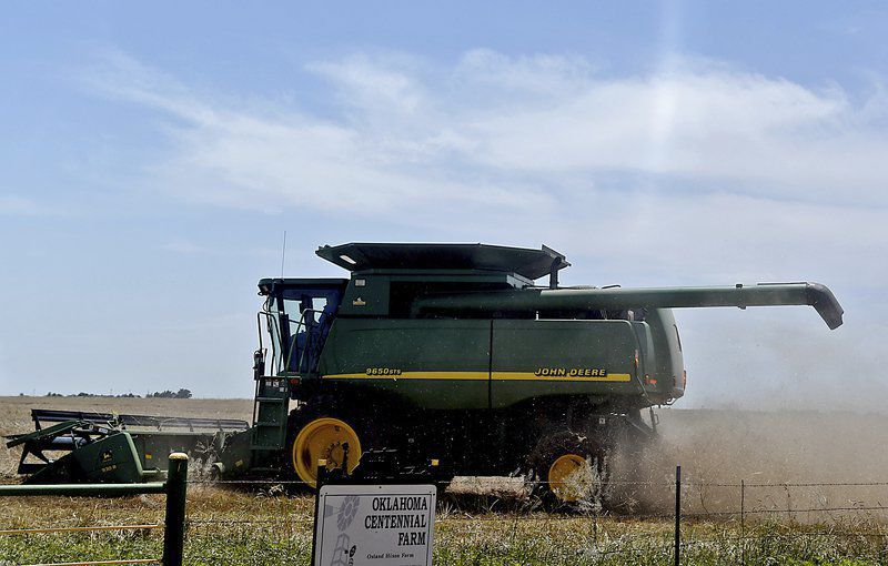Wheat harvest off to late, slow start