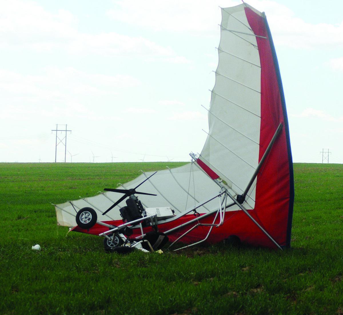 Ultralight crash 2