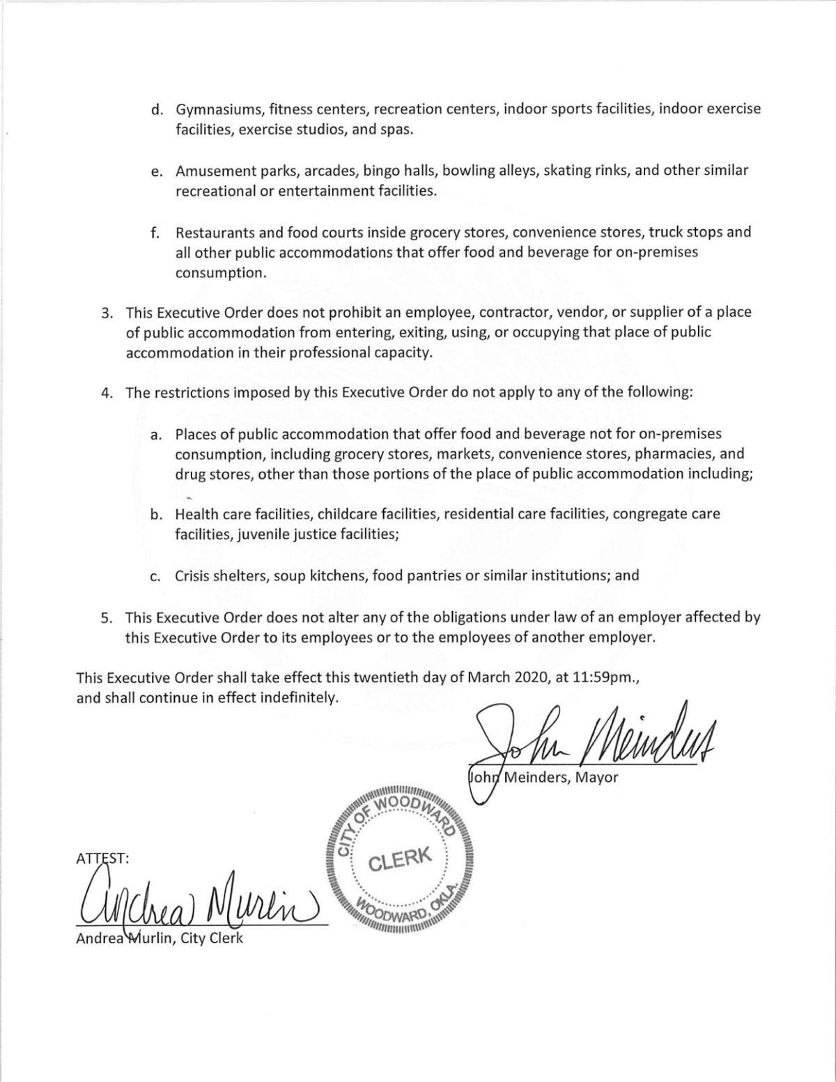 New proclamation 2