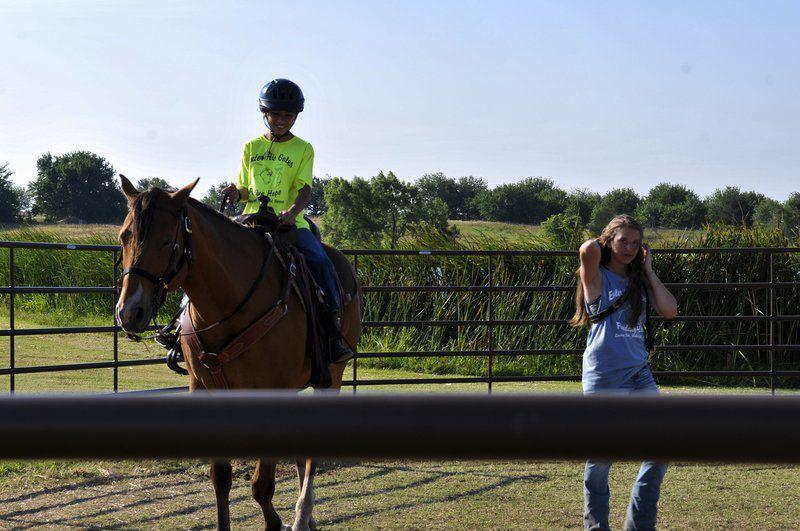 Spots still open for Enter His Gates summer horse camp