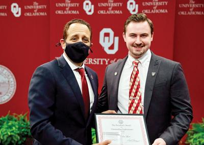 local grad honored