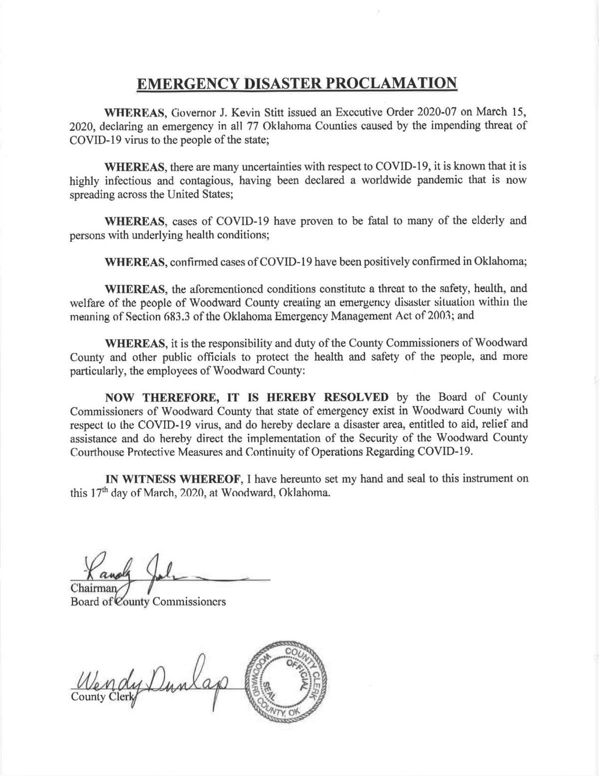 county declaration 1