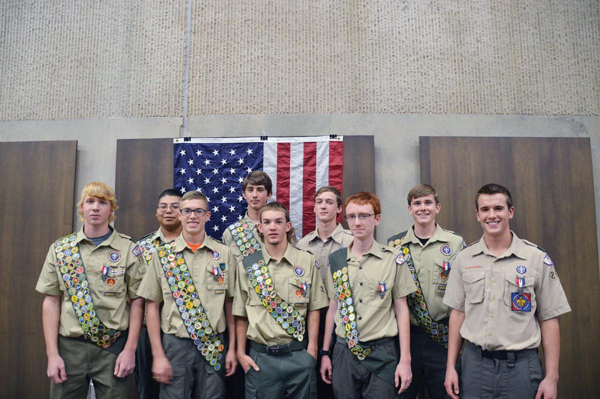 Students receive Eagle Scout Award   News   woodwardnews.net