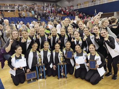 Dance team win state