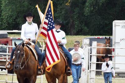 4-H horse show