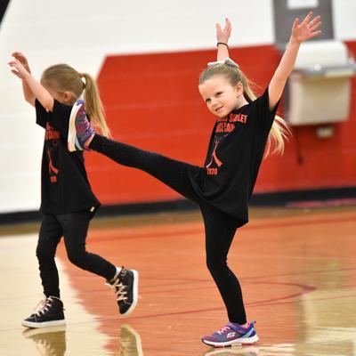 Young Cadet dancers