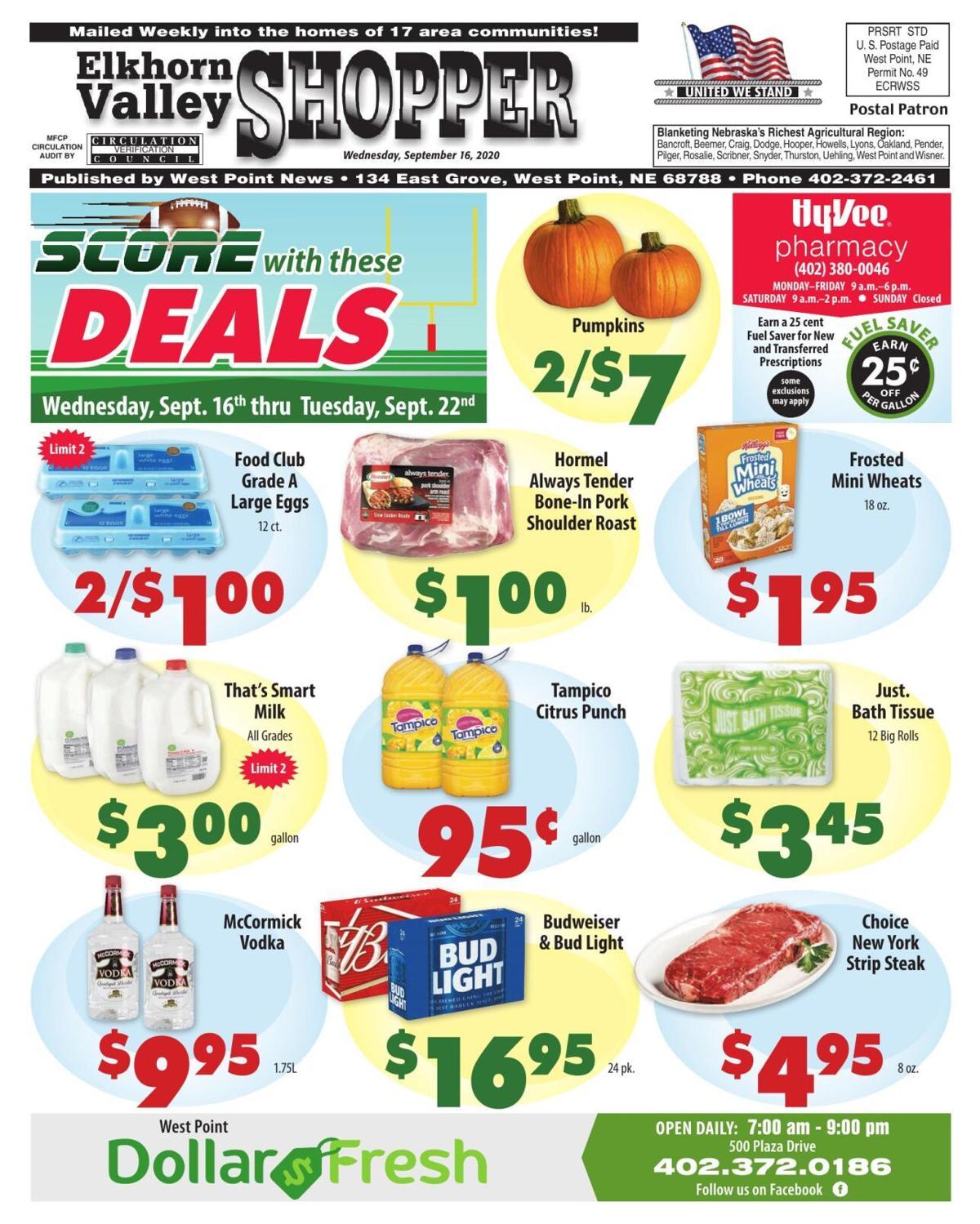 Shopper: September 16