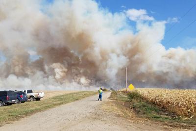 Field fire